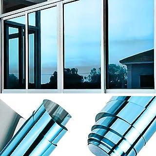 comprar comparacion TTMOW Vinilo Pet Película Adhesiva Lámina de Espejo para Ventanas Cristal Unidireccional Protector de Privacidad Anti 99% ...