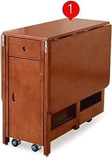 Table De Salle À Manger Pliante, avec Chaise De Salle À Manger, Moderne Minimaliste Table Pliante Simple Table à Manger Mo...