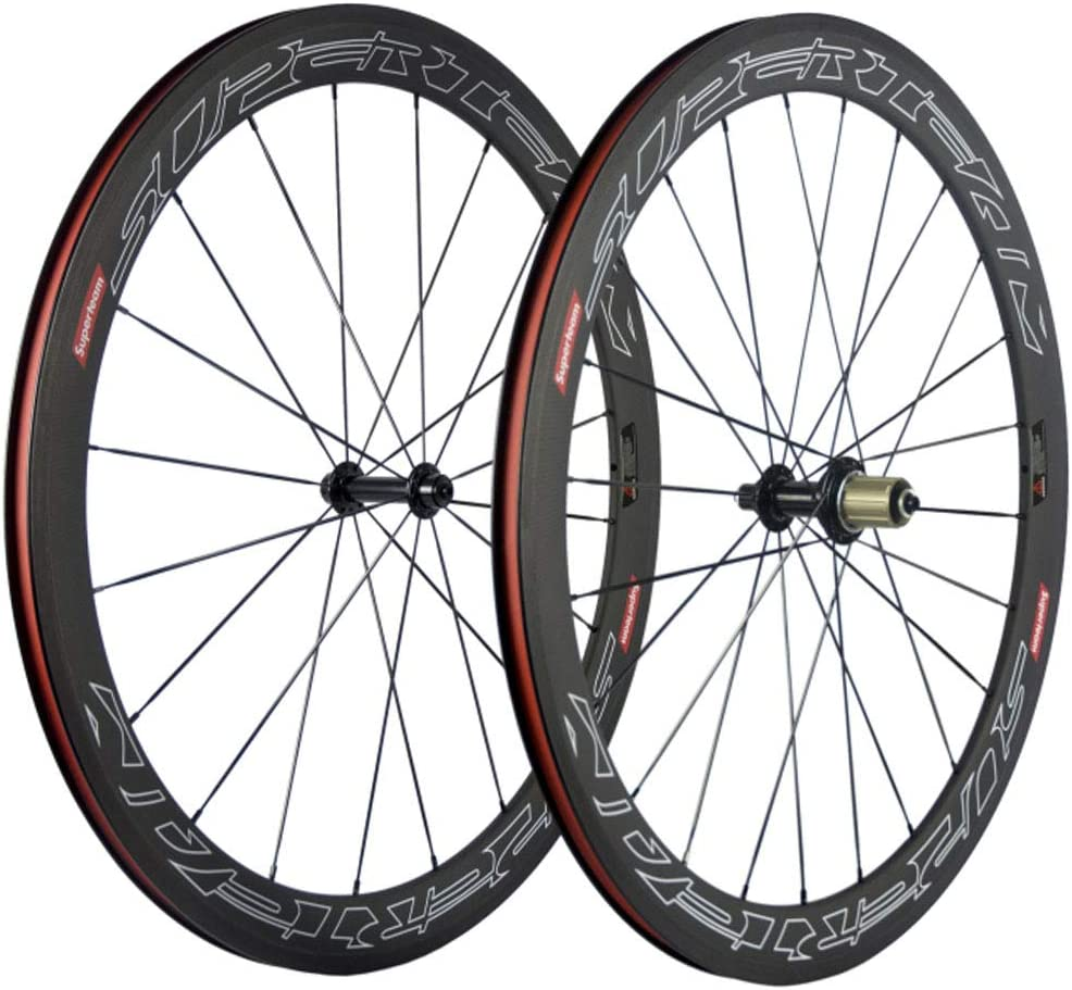 Superteam 50mm Clincher Wheelset 700c Cycling Max 90% OFF Width 23mm Racing Translated
