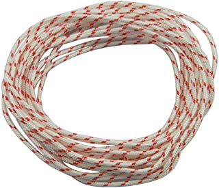 Replacement Echo Recoil Starter Rope 10 ft / 3mm Diameter Replacement Pull Cord for Echo Trimmer Edger Brush Cutter Blower Engine Parts