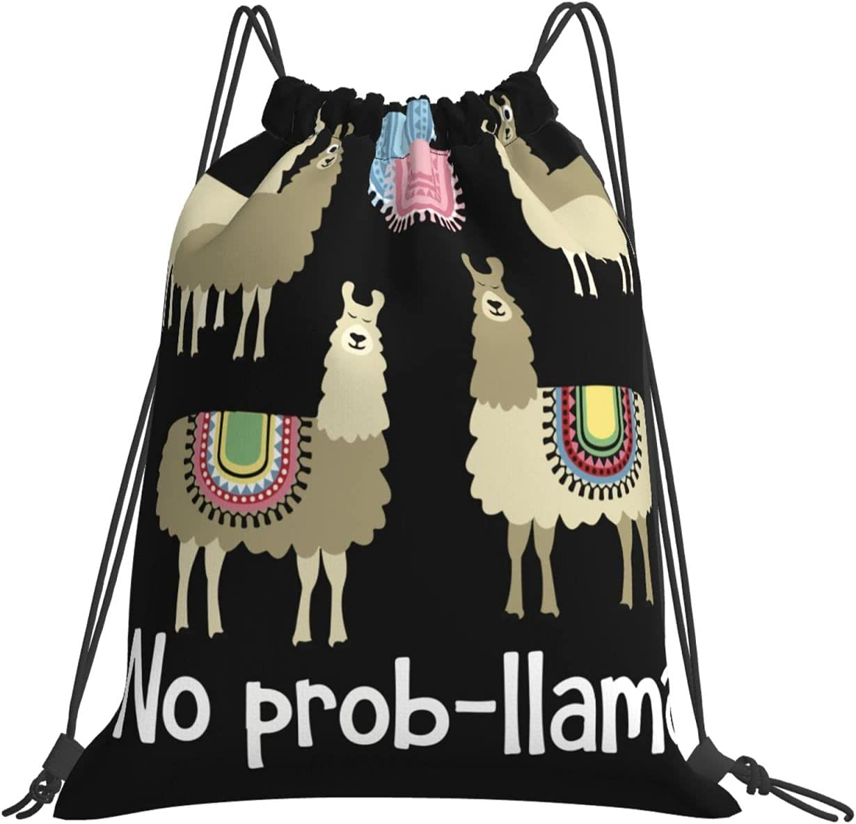 Tribal No Prob-Llama Drawstring Bag For Men Hi Women Lightweight National Sale special price products