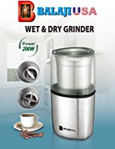 Balajiusa Wet & Dry Grinder Chutneys/Masalas 220volts (Not for use within USA)