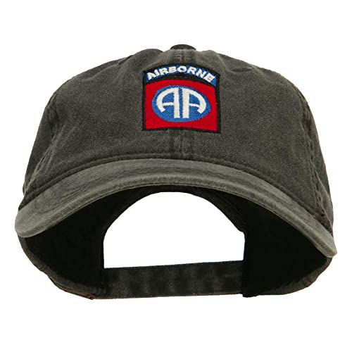 12094c7d86e E4hats 82nd Airborne Embroidered Washed Cap