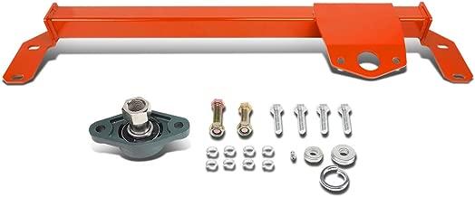 DNA Motoring Red BRR-010-RD Steering Box Stabilizer Bar [for 03-08 Dodge Ram 2500 3500 4WD]