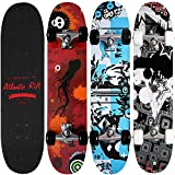Atlantic Rift Complete Skateboard - Maple ABEC 7 31 inch Deck with...