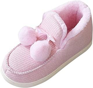 Kiyotoo Pantuflas de Espuma viscoelástica Unisex con Forro de Piel sintética de Felpa cálida, Mezcla de Lana, Zapatos de Micro casa con Suela de Goma Antideslizante