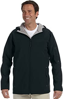 Mens Hooded Soft Shell Jacket (D998)