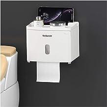 2020 Waterdichte Wall Mount toiletrolhouder Shelf Toilet Paper Tray Roll Paper Tube Storage Box Creative Tray Tissue Box H...
