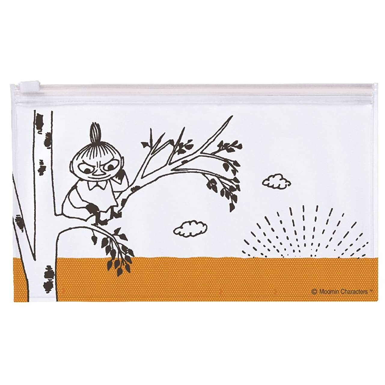 叫ぶ流行している粘性の学研ステイフル ムーミン スライダーペンケース tree H06868
