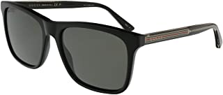 Gucci GG0381S Club Master Men's Sunglasses, 57mm