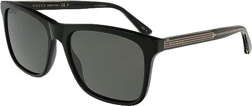 Gucci GG0381S Club Master Men's Sunglasses, 57mm