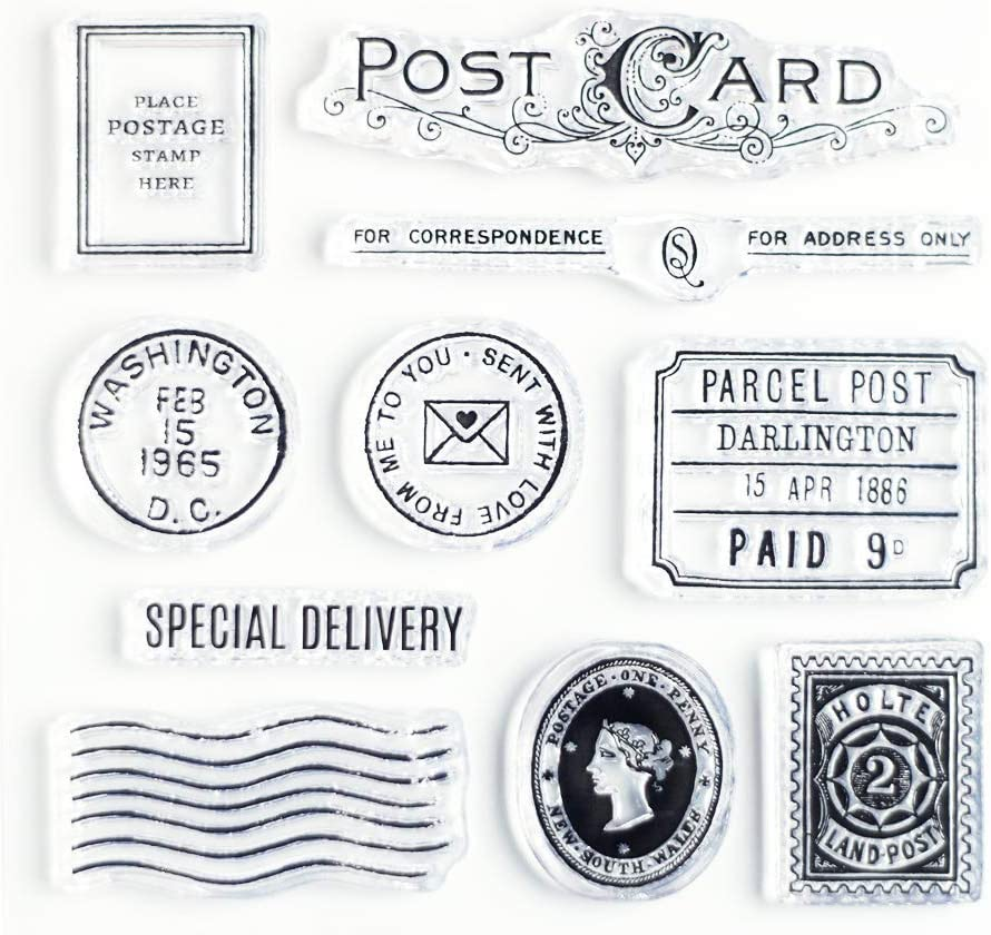 Cheap super special price Special Delivery Clear Stamps 4x4 by inch Wintertime for Crafts Price reduction