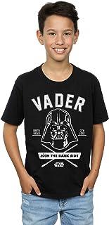 Star Wars niños Darth Vader Collegiate Camiseta