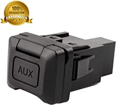 Auxiliary Input Jack Adapter Assembly Replacement 39112-SNA-A01 for 2006 2007 2008 2009 2010 2011 Honda Civic, Audio Radio Stereo Aux Port Socket 57010 39112SNAA01 12 MONTHS WARRANTY