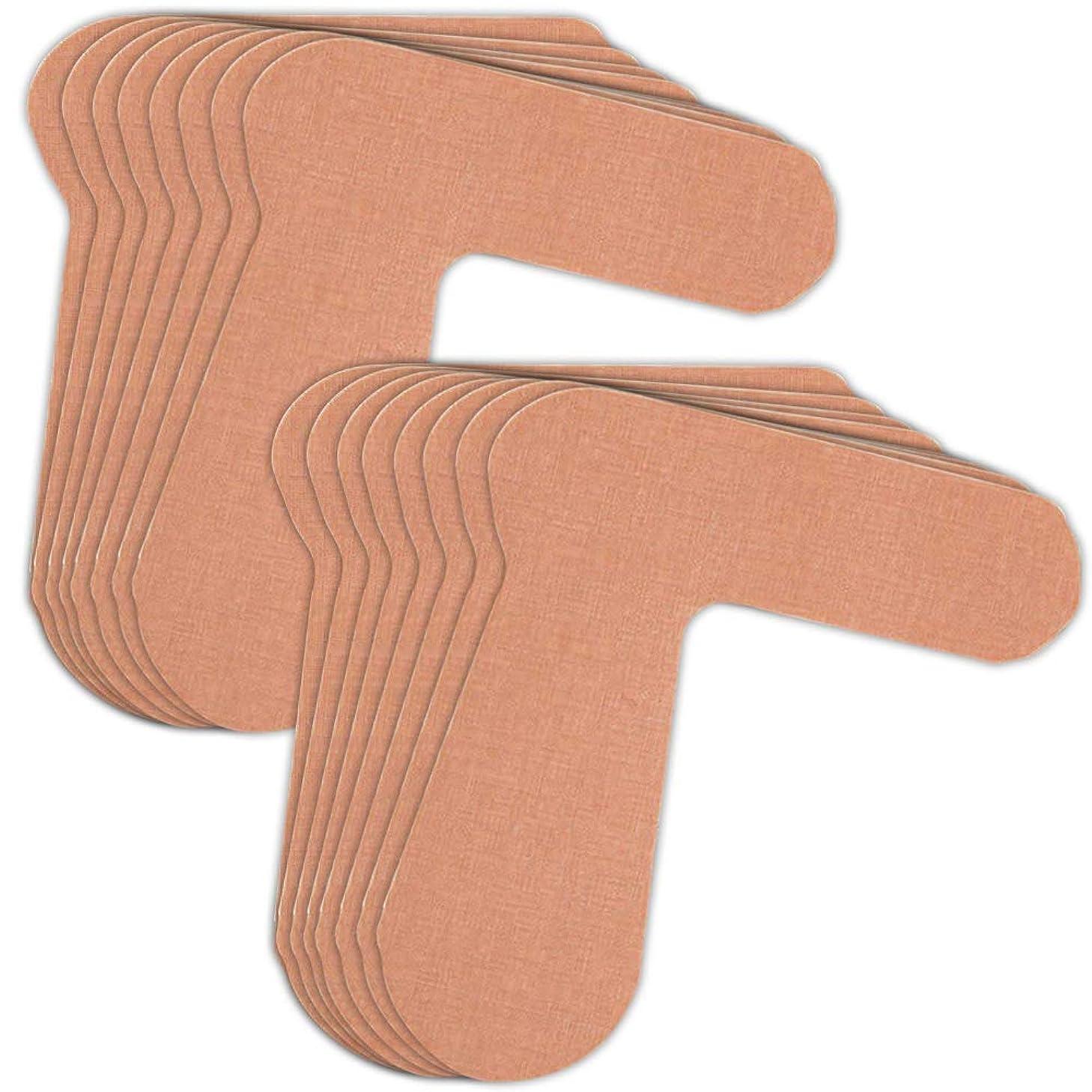 ウィザードアイドル曇った親指を支えるテープ ばね指 サポーター テーピング 手 腱鞘炎 固定 保護 水仕事OK 左右兼用 16枚入