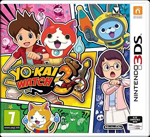 3DS Yo-Kai Watch 3 - Nintendo 3DS [Importación inglesa- jugable en ingles]