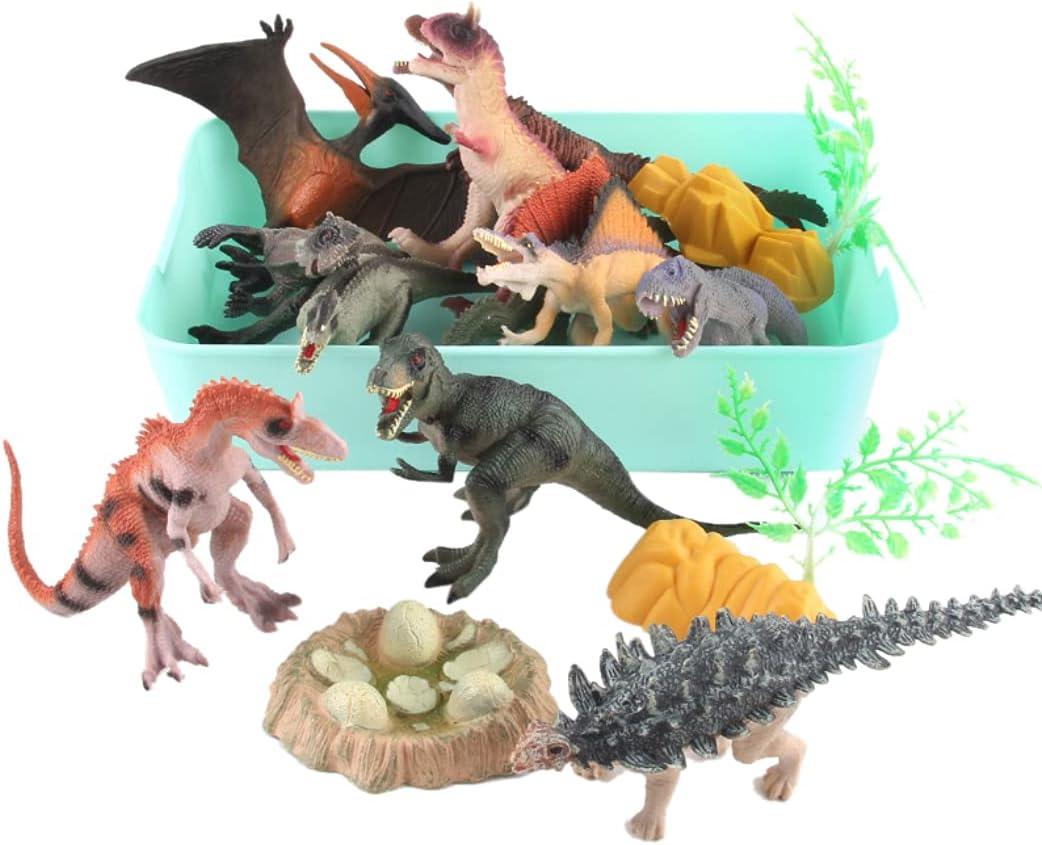 yeesport Dinosaur Scene Ranking TOP17 Set Funny DIY Genuine Toy