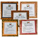 A Blend Above Best Sellers Spicy Dip Mix 5 Pack Includes Spicy Garlic, Lonestar Ranch, Ghost Pepper, Carolina Reaper, and Southwest Jalapeño