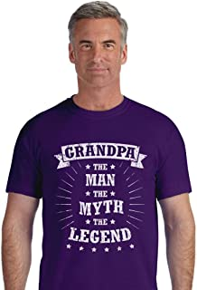 Tstars - Grandpa The Man The Legend Father's Day Gift T-Shirt