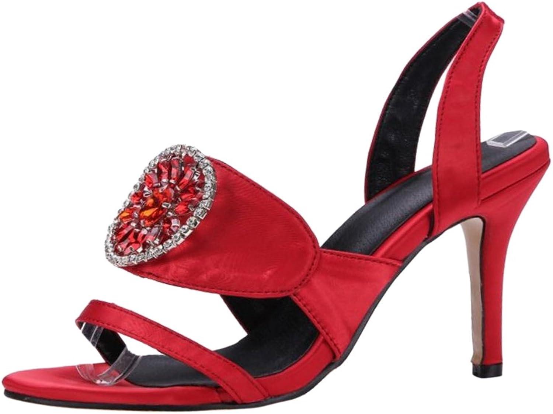 JOJONUNU Women High Heel Summer Sandals