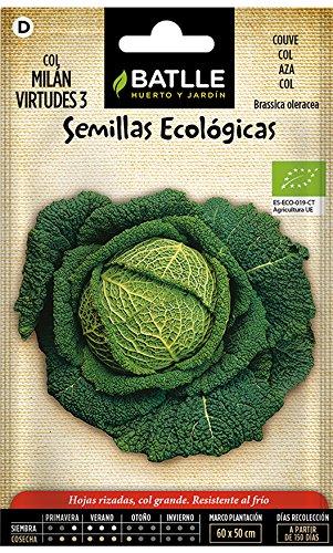Semillas Hortícolas - Col Bruselas Sanda - Batlle