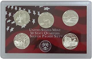 2000 silver proof state quarters