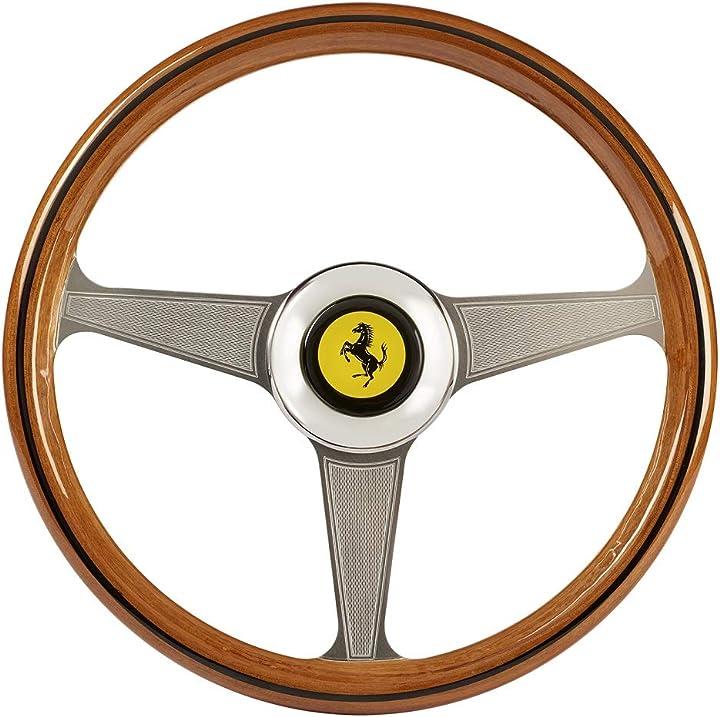 Sterzo ferrari 250 gto vintage wheel addon (lenkrad addon, 33 cm, pc)  thrustmaster 2960822