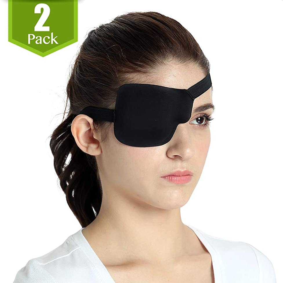 FCAROLYN 3D Eye Patch (Right Eye/Pack of 2)