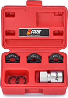 EWK 4 PCS Wheel Stud Thread Repair Kit Split Die Thread Restorer Metric Rethreader Kit