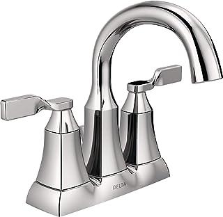 """Delta Faucet 25766LF Sawyer Two Handle Lavatory Faucet, Chrome, 4"""""""