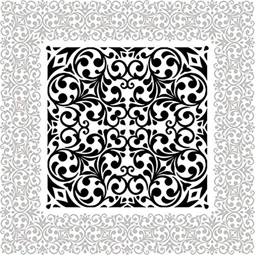 Odhams Press Chantilly Red Re-Tile Decal with White Background 6