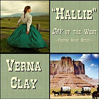Cry of the West: Hallie audiobook cover art