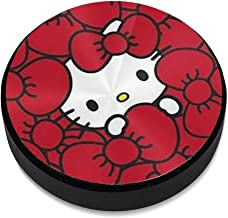 Hello Kitty in Red Background Aluminium Alloy Magnetic Car Mount, Magnetic Car Mount Phone Holder,for Cell Phones and Mini Tablets Suit for Any Phone