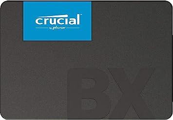 TALLA 240 GB. Crucial BX500 240 GB CT240BX500SSD1(Z) Unidad interna de estado sólido, hasta 540 MB/s (3D NAND, SATA, 2.5 Pulgadas)