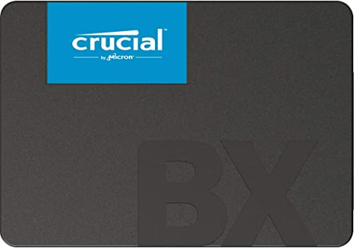 Crucial BX500 240Go CT240BX500SSD1 SSD Interne-jusqu'à 540 MB/s (3D NAND, SATA, 2,5 pouces)