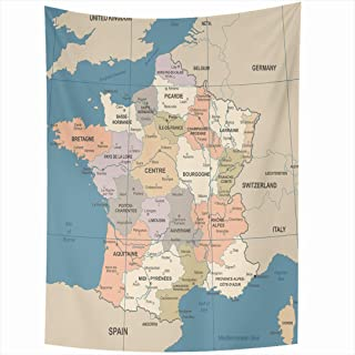 detailed map of corsica france