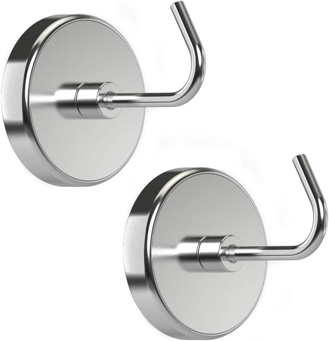 PRIMADA Extra-Strong Set free shipping Today's only Magnetic Chrome 2pc Hooks