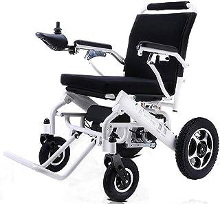 Sillas de ruedas eléctricas para adultos Rehab silla de ruedas Silla médica, silla de ruedas, silla de ruedas eléctrica, plegable y 25Kg de peso ligero silla de ruedas eléctrica, 360 ° Joystick, que p