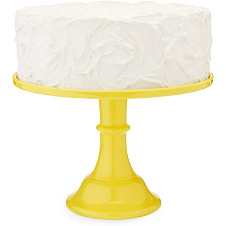 Twine Yellow Melamine Cake Stand, Cupcake Stand, Home Decor, Food Service, Dessert Accessory, Yellow, Set of 1