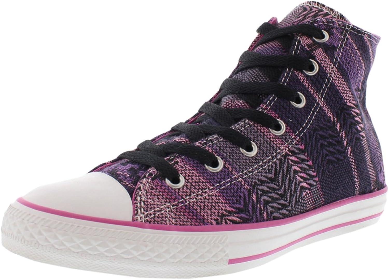 Converse Girl's Chuck Taylor Hi Ankle-High Canvas Fashion Sneaker
