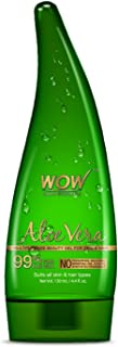 WOW Aloe Vera Multipurpose Beauty Gel for Skin and Hair, 130ml