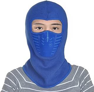 Leories Winter Fleece Windproof Ski Mask Warm Full Face Cover Anti-dust Balaclava