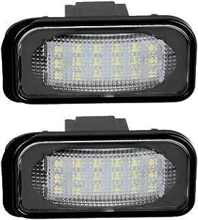 LETRONIX SMD LED illuminazione targa Module classe C CL203 Sportcoupe 2000 2008 con marchio di controllo E