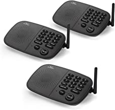 Wireless Intercom System Hosmart 1/2 Mile Long Range 10-Channel Security Wireless Intercom System for Home or Office (2019...