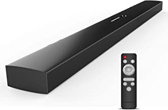 Meidong Bluetooth Sound Bars for TV Wireless Sound Bars with Remote Control 43 Inch 12 Speakers 72 Watt Wall Mountable Home Cinema Soundbar (KY2000 Long Size)