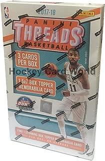 2017-18 Panini Threads Basketball Box Factory Sealed - Box Topper Memorabilia