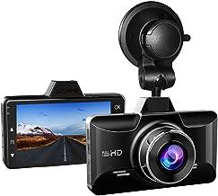 AZDOME Dash Cam Dashboard Car Camera 1080P FHD DVR Car Driving Recorder Dash Camera 3 inch 2.5D IPS Screen 170° Wide Angle, G Sensor, Parking Monitor, Loop Recording, Motion Detection