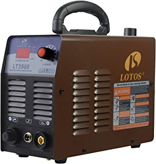 Lotos LT3500 35Amp Air Plasma Cutter, 2/5 Inch Clean Cut, 110V/120V Input with Pre Installed NPT...