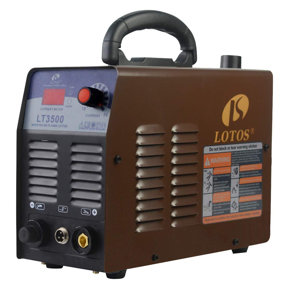 LOTOS LT3500 Plasma Cutter – Best for Compact Design