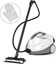 COSTWAY Multipurpose Steam Cleaner with 17 Accessories, 2000W Heavy Duty Steamer Chemical-Free Cleaning, 1.5L Dual-Tank Cleaning Machine for Carpet, Floors, Windows and Cars